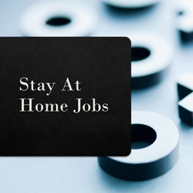 how to find stay at home jobs