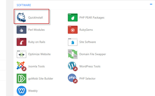 how to install wordpress from cPanel